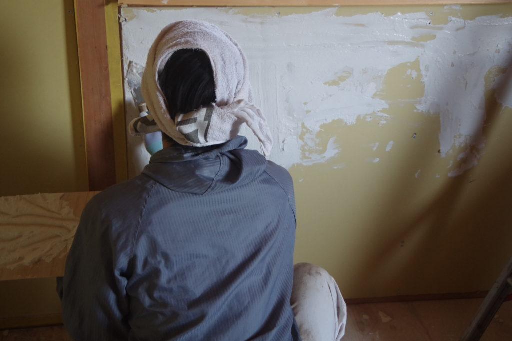 DIYで漆喰を塗る!