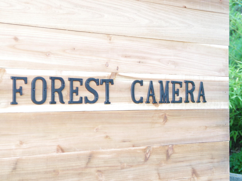 DIYフォレストカメラ看板自作