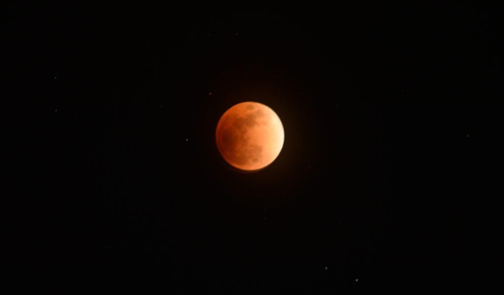 皆既月食の撮影